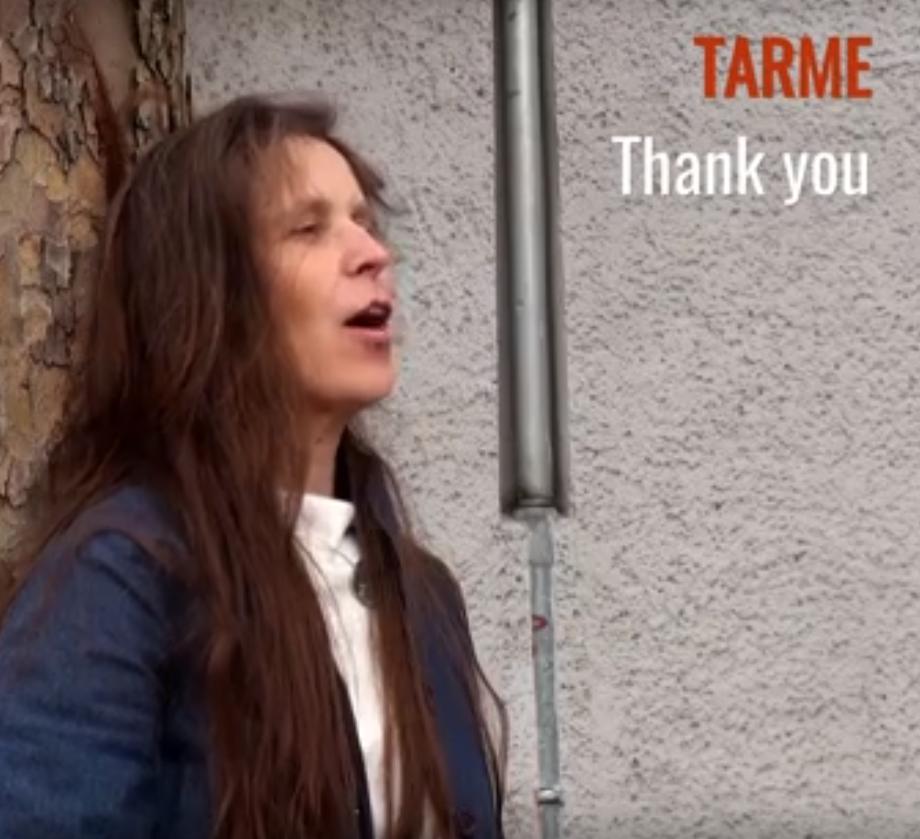 Musikvideo TARME zum Dank an PLANx
