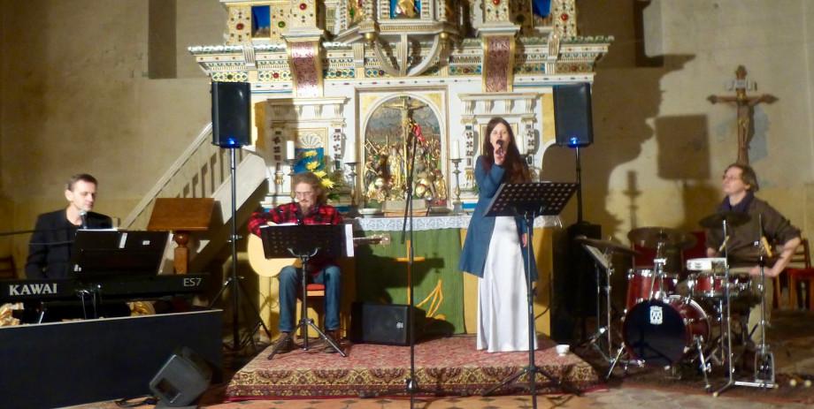 TARME und Band Konzert Lutherlieder Prenzlau